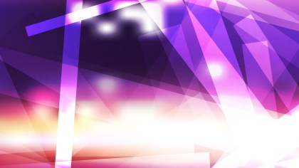 Abstract Geometric Purple and White Background Vector Illustration