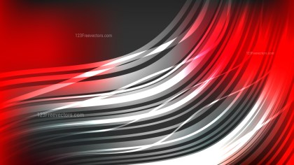 Modern Abstract Red Black and White Background