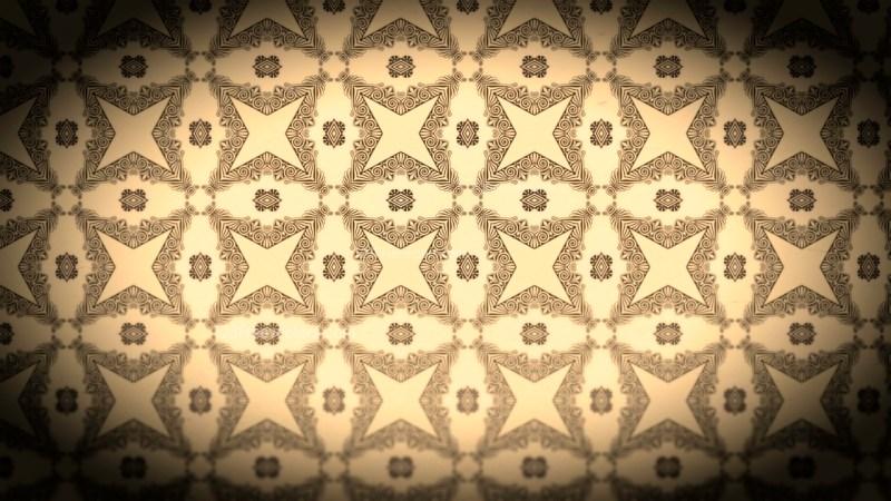 Black and Brown Vintage Flower Background Pattern