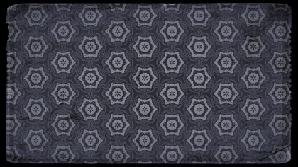 Black and Gray Vintage Seamless Ornament Wallpaper Pattern Design Template