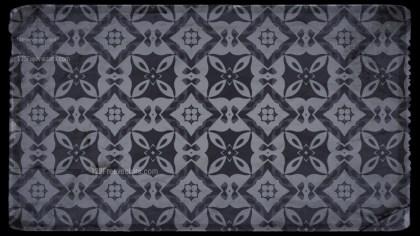 Black and Grey Ornamental Vintage Background Pattern