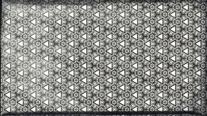 Black and White Vintage Ornamental Seamless Pattern Wallpaper Template