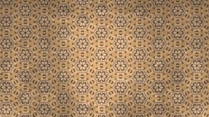 Brown Vintage Seamless Ornamental Pattern Background