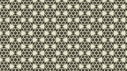 Geometric Ornament Pattern Wallpaper