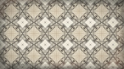 Brown Decorative Seamless Wallpaper Pattern Graphic