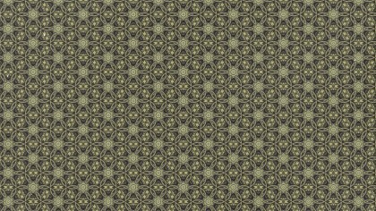 Vintage Ornament Pattern Wallpaper Graphic