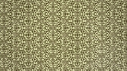 Ecru Vintage Ornament Background Pattern Image