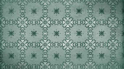 Green Vintage Seamless Wallpaper Pattern Template