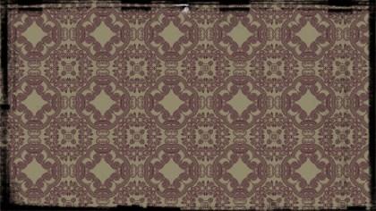 Purple and Beige Vintage Decorative Ornament Wallpaper Pattern