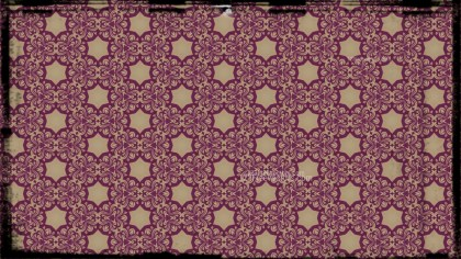 Purple and Beige Vintage Floral Seamless Pattern Background Graphic
