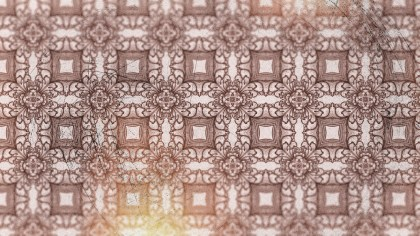 Red Vintage Seamless Ornament Background Pattern Graphic