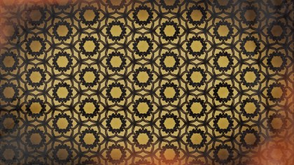 Red and Brown Vintage Decorative Floral Pattern Background