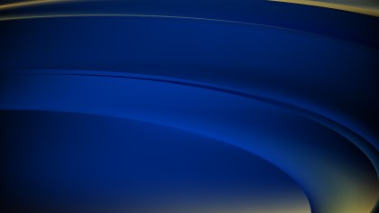 Abstract Black and Blue Wavy Background Vector