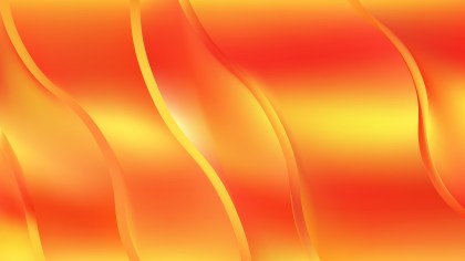 Abstract Red and Yellow Wavy Background Design