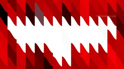 Abstract Red and White Geometric Shapes Background