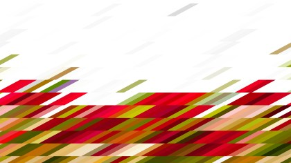 Abstract Red Green and White Geometric Shapes Background Design