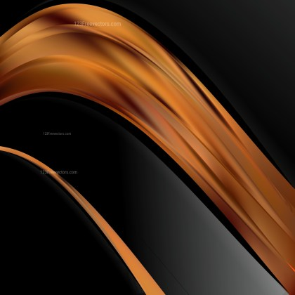 Black and Brown Wave Business Background