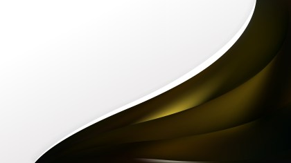 Black and Gold Wave Business Background
