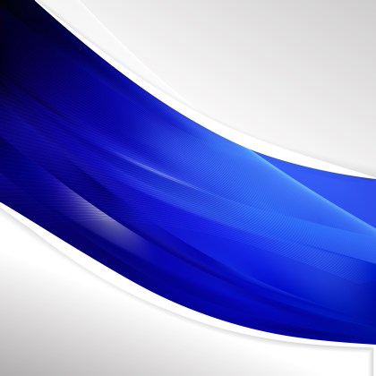 Cobalt Blue Background Template