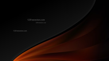 Cool Brown Wave Business Background
