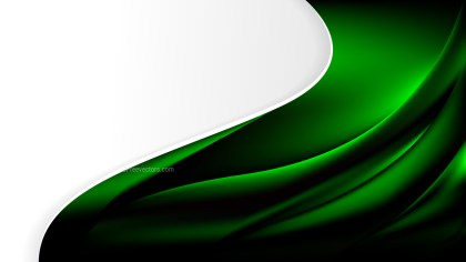 Cool Green Background Template