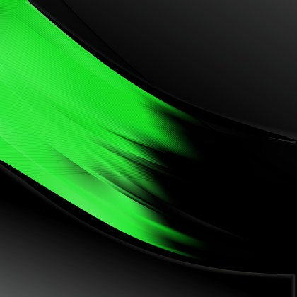 Cool Green Wave Business Background Vector Art