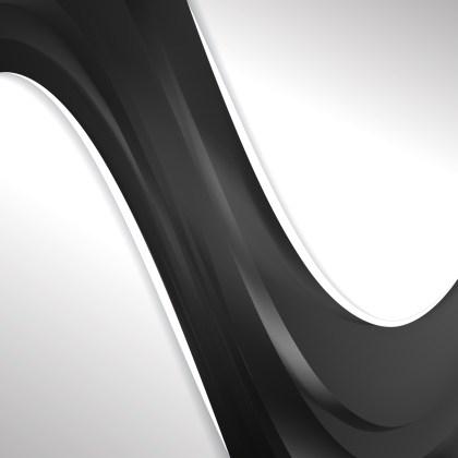 Dark Grey Wave Business Background