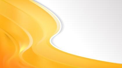 Orange Wave Business Background