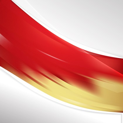 Red and Gold Wave Business Background