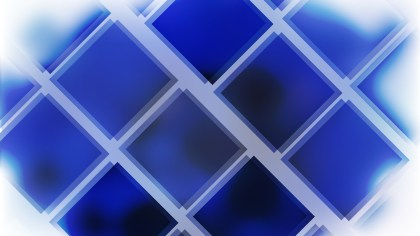 Abstract Blue Black and White Square Lines Background
