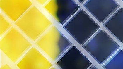Abstract Blue Yellow and Black Square Lines Background Vector Image