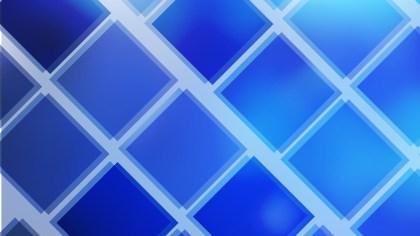 Cobalt Blue Square Lines Background