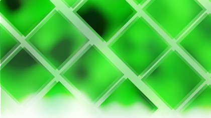 Abstract Neon Green Square Lines Background
