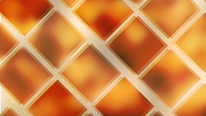 Abstract Orange Square Background