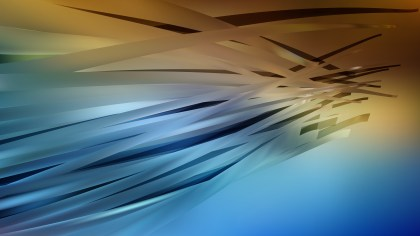 Abstract Blue and Orange Background Image