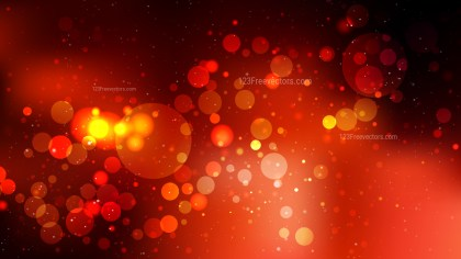 Abstract Black Red and Orange Lights Background Image