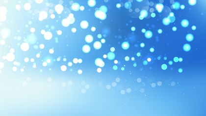 Blue and White Defocused Background Vector Image