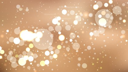 Abstract Brown Blurry Lights Background
