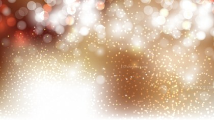 Brown and White Blurred Bokeh Background Vector Image