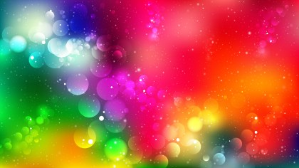 Abstract Colorful Lights Background