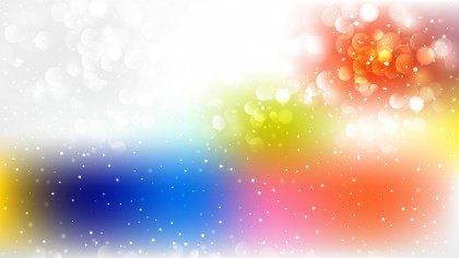 Abstract Colorful Blurry Lights Background