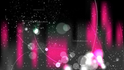 Abstract Cool Pink Illuminated Background