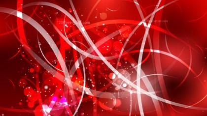 Abstract Dark Red Lights Background Vector Art