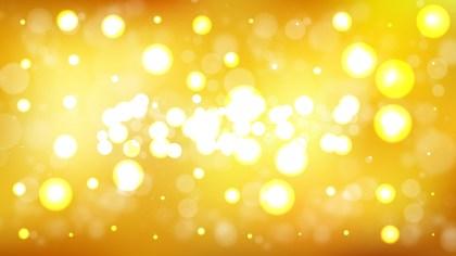 Abstract Orange Lights Background