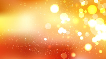 Orange Bokeh Defocused Lights Background Image