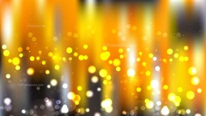 Orange and Black Lights Background