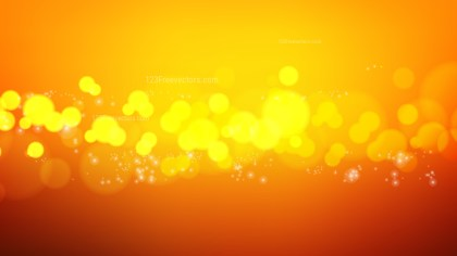 Orange and Yellow Blur Lights Background