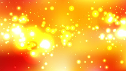 Orange and Yellow Blurred Lights Background Vector Graphic
