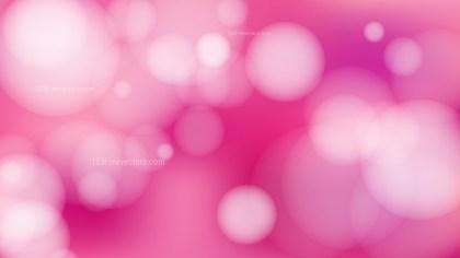 Pink Blurry Lights Background