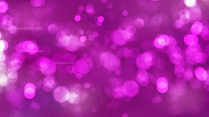 Abstract Purple Bokeh Lights Background Illustrator
